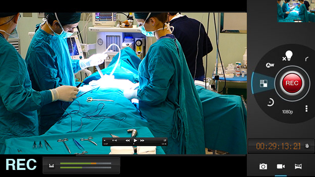 Surgical Procedure Video Recording